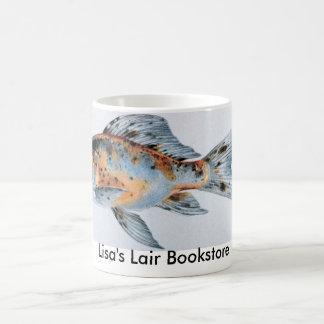 Promo de la librería del goldfish de Shubunkin Taza Básica Blanca