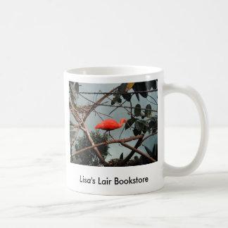 Promo de la librería del ruber del escarlata Ibis Tazas De Café
