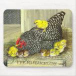 Promo de Mousepad de la gallina de la madre Alfombrillas De Raton