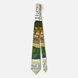 Promo francés 1901 de la demostración de arte corbatas personalizadas