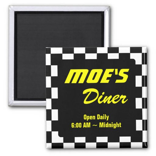 Promoción del negocio del comensal de Moe Iman De Frigorífico