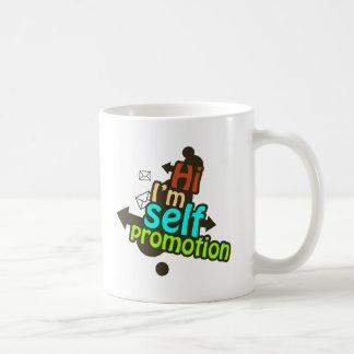 Promoción del uno mismo - dos taza de café