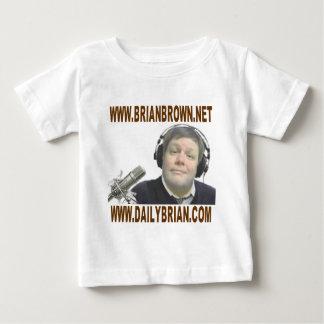 Promoción del Web site de Brian Brown Polera