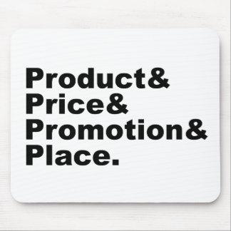 Promoción y lugar de comercialización del precio d alfombrillas de ratón