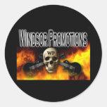 Promociones de Windsor Pegatina Redonda