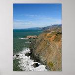 Promontorios de Marin, acantilados costeros Posters