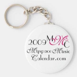 Promos de MyspaceMusicCalendar_2009 MMC Llavero Personalizado