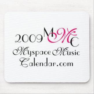 Promos de MyspaceMusicCalendar_2009 MMC Alfombrilla De Raton
