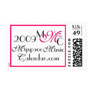 Promos de MyspaceMusicCalendar_2009 MMC Timbre Postal