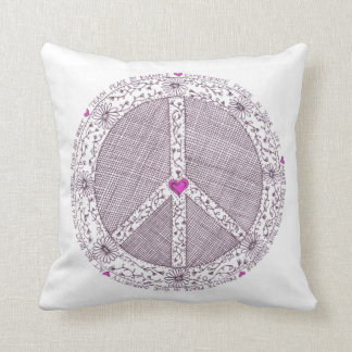 Promote Peace Pillow
