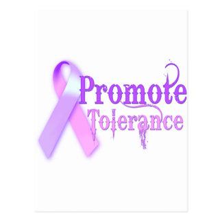 Promote Tolerance Postcard