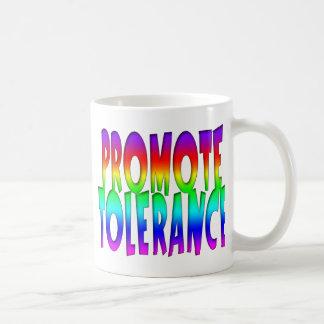 Promote Tolerance Rainbow Coffee Mug