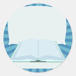 Promote Your Book! Classic Round Sticker