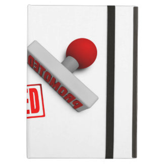 Promoted Stamp or Chop on Paper Concept in 3d Cover For iPad Air