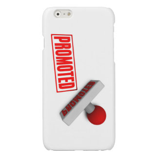 Promoted Stamp or Chop on Paper Concept in 3d Glossy iPhone 6 Case