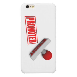 Promoted Stamp or Chop on Paper Concept in 3d Matte iPhone 6 Plus Case