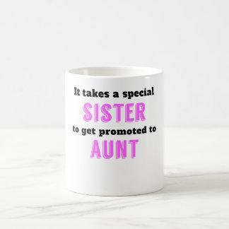 Promoted To Aunt Magic Mug