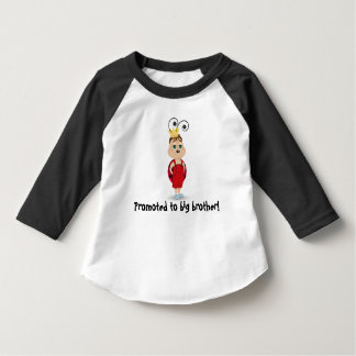Promoted to big brother long sleeved t-shirt