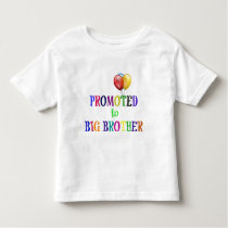 Promoted to Big Brother Toddler T-shirt