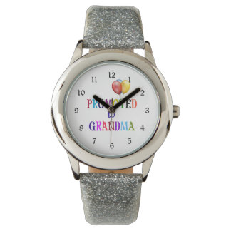 Promoted to Grandma, Colorful Design Wrist Watches