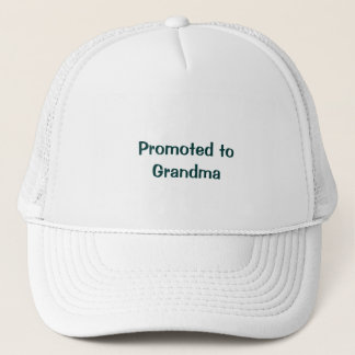 Promoted to Grandma T-shirts Grandmas Tees Trucker Hat
