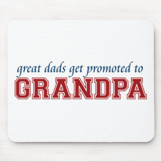 Promoted to Grandpa Mouse Pad