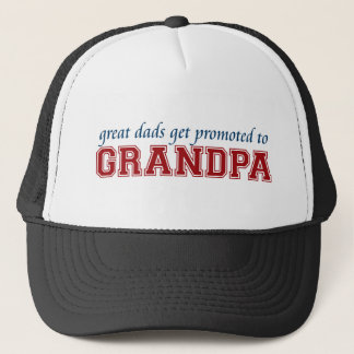 Promoted to Grandpa Trucker Hat