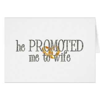 promoted to wife card