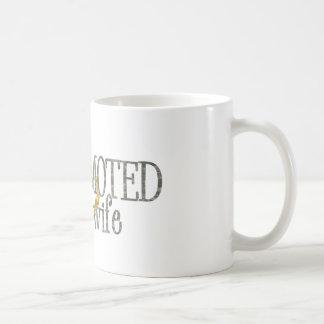 promoted to wife coffee mug