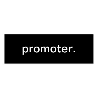 Promoter Business Card