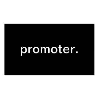 Promoter Double-Sided Standard Business Cards (Pack Of 100)