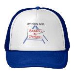 Promoting children's literacy mesh hat