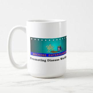 Promoting Disease Globally: Microbe Entertainment Classic White Coffee Mug