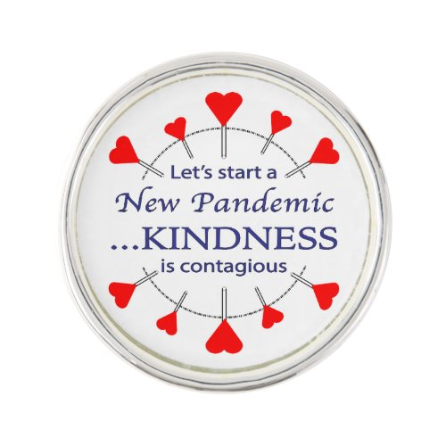 Promoting Kindness Lapel Pin