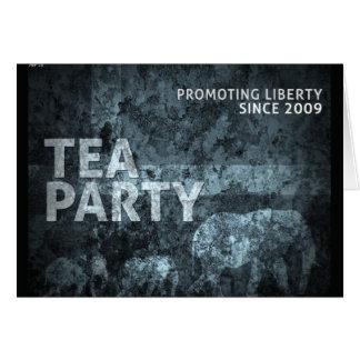 Promoting Liberty Greeting Card