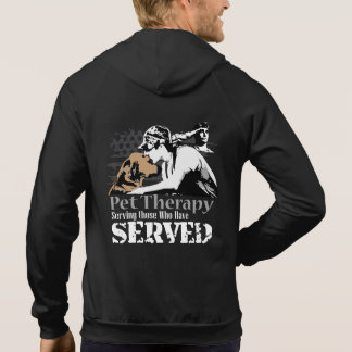 Promoting pet therapy for PTSD Hoodie