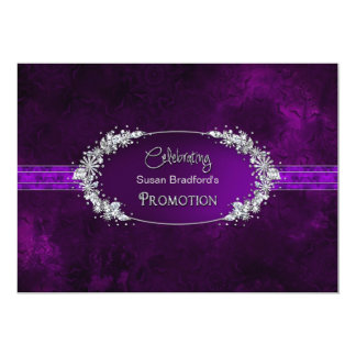 Promotion party invitations announcements zazzle promotion party invitation purplegems stopboris Image collections