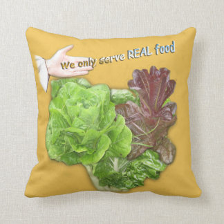 Promotion Pillow for Healhy food