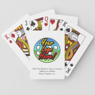 Promotional Business Logo/Text Poker Cards
