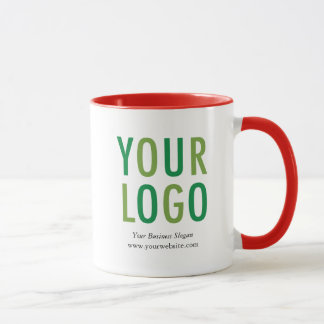 Promotional Custom Mug Company Logo No Minimum
