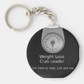 Promotional Design For Weight Loss Coaches Keychain