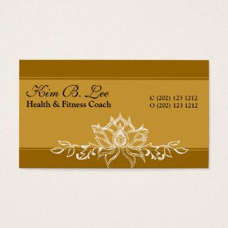 Promotional Lotus Garden Business Card