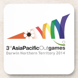 Promotional Material 3rd Asia Pacific Outgames Drink Coaster
