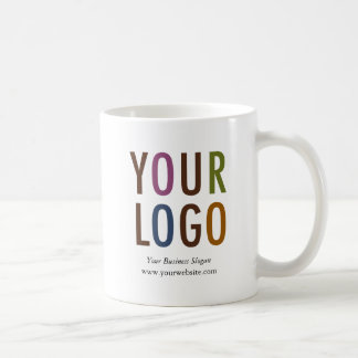 Promotional Mug with Company Logo 11 oz No Minimum
