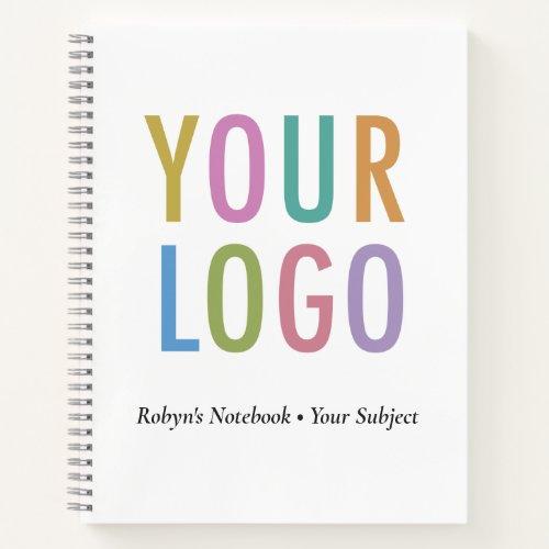 Promotional Notebook Company Logo No Minimum Bulk