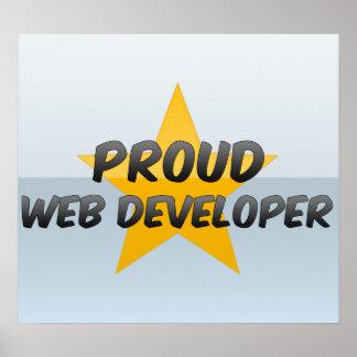 Promotor de Web orgulloso Impresiones