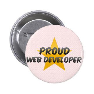Promotor de Web orgulloso Pins