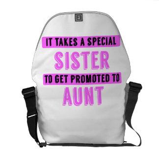 Promovido a la tía bolsas messenger