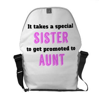 Promovido a la tía bolsas de mensajería