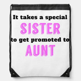 Promovido a la tía mochilas